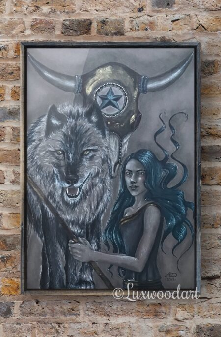 Wynonna's Totem original drawing by Lux Wood - Wynonna Earp Fanart